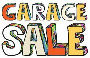 Two Family Garage Sale 848 & 853 Murray Street, South of Wooler