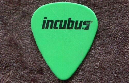 INCUBUS Tour Guitar Pick!!! MICHAEL EINZIGER custom concert stage Pick #3