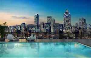 MONTREAL AMAZING DT VIEWS--FURNISHED 1BR CONDOS