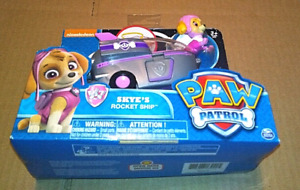 Paw Patrol Skye's Rocket Ship Vehicle and Figure New