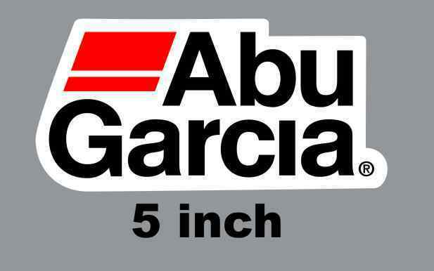 "5"" Abu Garcia Quality Decal Sticker Tackle Box Lure Fishing Boat Truck trailer"