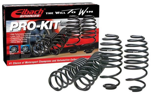Eibach BMW 1 Series E82 M Coupe PRO-KIT Lowering springs 25mm F / 10mm R