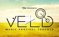 1 Weekend Ticket For Veld Music Festival in Toronto