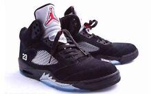 Jordan black metallic 5's (5.5Y) Sydenham Brimbank Area Preview