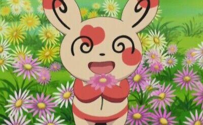 Pokémon Go Heart/Valentine Spinda Trade - Random Moveset & CP](Heart Valentine)