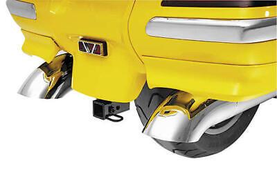 Show Chrome Turndown Exhaust Tips Fits Honda GL1800 Gold Wing -