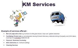 Reliable Lady & Man with a Van / House Clearances / Courier / Cleaning / Odd Jobs