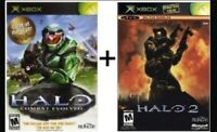 HALO 1 and HALO 2 CHEAP!! GREAT CONDITION!!