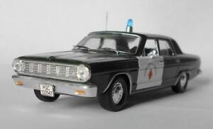 DeAgostini 1:43 Dodge Dart 1962 serie Police cars of the world