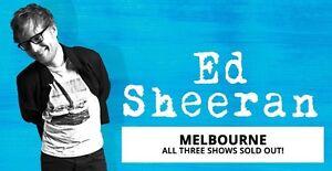 Ed Sheeran Tickets Melbourne 2018 Croydon North Maroondah Area Preview
