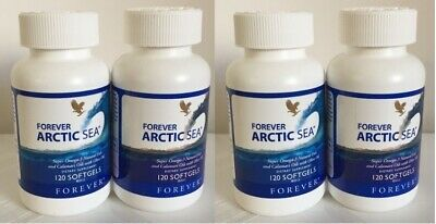 10 FOREVER ARCTIC SEA (120 Softgels) for lower Cholesterol HALAL Exp. 2023