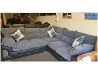 BRAND NEW LOGAN JUMBO CORD CORNER OR 3+2 SEATER SOFA SET AVAILABLE IN STOCK ORDER NOW