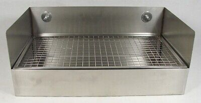 Stainless Steel Rack Or Wall Mount Dripcooling Tray Grate No Drain 17 34 L