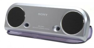 ✨Sony SRS-T10PC USB⚜Travel Speakers in Whiteℹ️