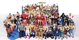 All unwanted Wrestling figures