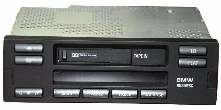Bmw E38 Business Radio Cassette Stereo C43 Us Mid Rds 740i 750il Rhebay: 1998 Bmw 740i Radio Receiver At Gmaili.net