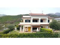 Holiday Villa in Diamante Italy - Share of Freehold. Seaview, 5bed, Near Beach
