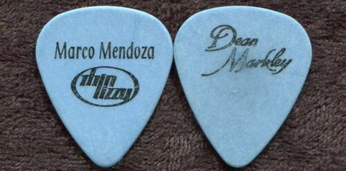 THIN LIZZY 2009 Tour Guitar Pick!!! MARCO MENDOZA custom concert stage Pick