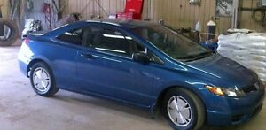 08 honda civic coupe Trade for 4x4 diesel or small tow truck