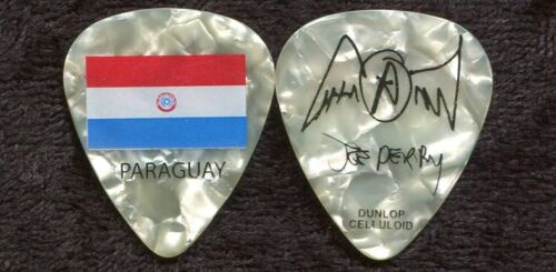AEROSMITH 2011 Road Tour Guitar Pick!!! JOE PERRY custom concert stage PARAGUAY