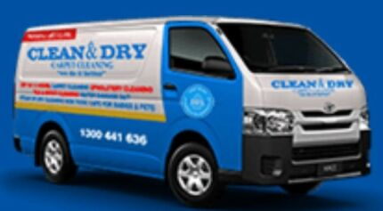 Clean and dry carpet cleaning 3rooms $87