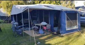Family size camper plus 2 kids kayaks