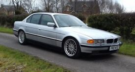 "2000 BMW 728i Lowered Black Leather 18""s"