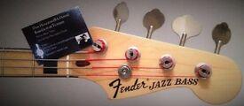 Bass Guitar Lessons (Dan Huggins BA Hons)
