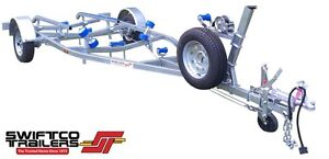 Swiftco 5 Metre Boat Trailer Skid Type. Buy from $3.63 day Molendinar Gold Coast City Preview