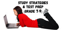 Grades 7-9 Study Strategy and Test Preparation Workshop