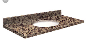 """50"""" Vanity cabinet with Granite countertop and sink"""