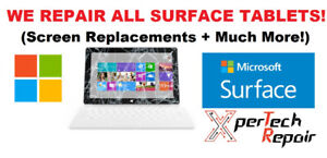 MICROSOFT SURFACE PRO SCREEN REPAIRS*(Pro/2/3/4/RT) *60 DAY WTY