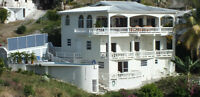 ST. LUCIA 'TERRACE VIEW VILLA'  3 EXOTIC VIEW APARTMENT RENTALS