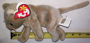 TY Plush Scat Cat Beanie Baby Toy with tags London Ontario image 2