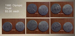1980 Olympic Trust Coins