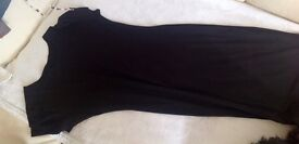 Long Dress with short-sleeved size 10