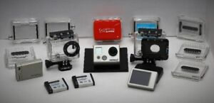GoPro HERO 2 Sports Action Camera/Cary Case and lots of Extras!
