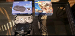 PS Vita with games and accesories.