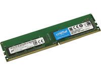 Crucial 8GB 2400MHz DDR4 RAM