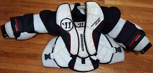 Goalie Chest Protector: Warrior Swagger Elite Int Large, $100