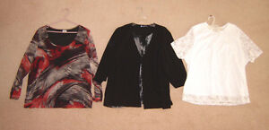 Ladies Tops sz 2X, 22  /  Dress sz 2X Strathcona County Edmonton Area image 1