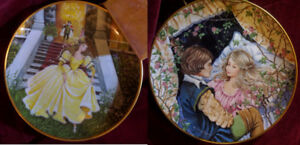 Set of 6 Vintage Fairytale/Storybook Collector Plates