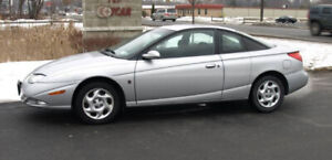 Like new inside and out. Loaded. Only 110KM Saturn SC2 2002