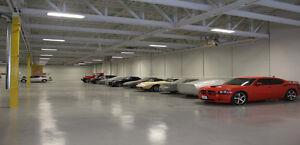 Winter Car storage / Remisage Hivernale Véhicules