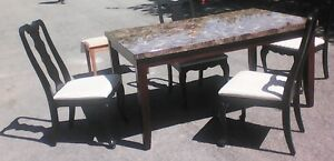 Table - 4 chairs