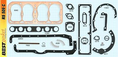 Ford Model A Full Engine Gasket Set/Kit BEST Copper Head+Manifold+Oil Pan