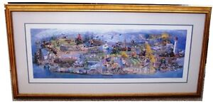 PETER ETRIL SNYDER - FRAMED SPIRITS OF CANADA SIGNED & #'d PRINT Kitchener / Waterloo Kitchener Area image 2