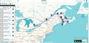 Toronto to Kingston and Montreal on August 2nd @12pm