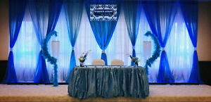 Backdrops $200 all styles and colours with Led lights Edmonton Edmonton Area image 6