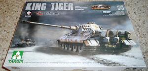 Takom 1/35 Sd.Kfz.182 King Tiger Henschel Turret w/ zimmerit and